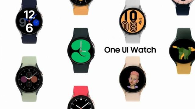 Samsung Galaxy Watch4 series with Wear OS + One UI Watch