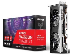 Radeon RX 6600 XT NITRO + de Sapphire