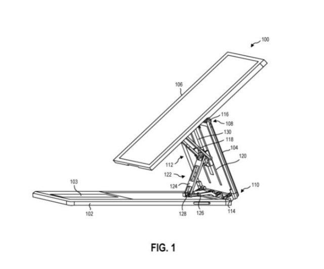 Microsoft Surface Kickstand Patent 1
