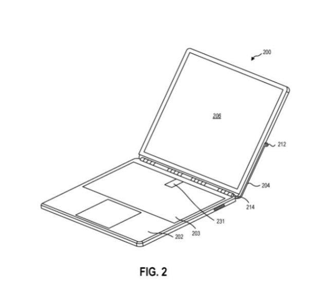 Microsoft Surface Kickstand Patent 2