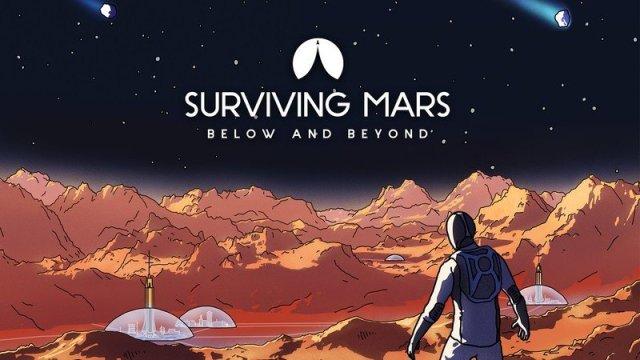 Surviving Mars Below And Beyond Key Art