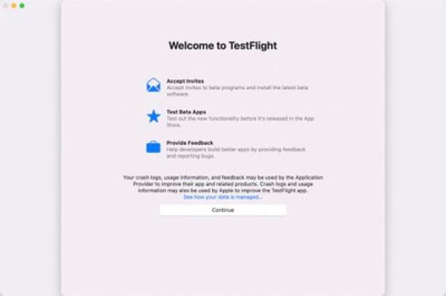testflight for mac app