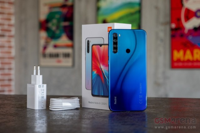 Xiaomi Redmi Note 8 2021 in for review