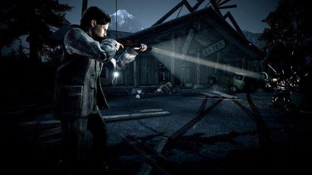 Alan Wake Shotgun
