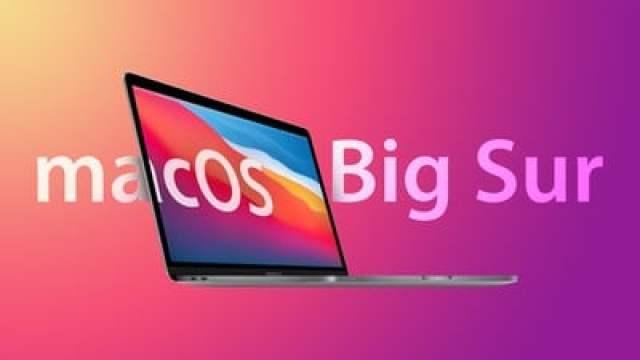 macOS Big Sur Feature Triad