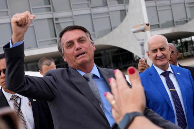 Jair Bolsonaro, le président du Brésil, le 6 septembre.