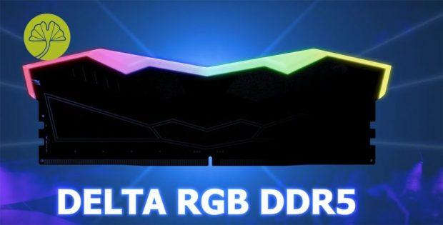 Mémoire Delta RGB DDR5