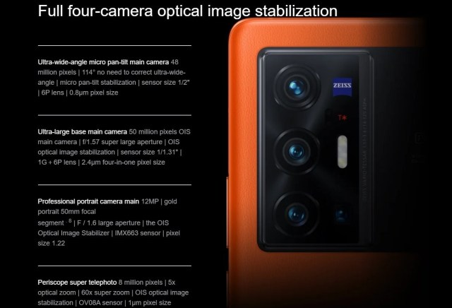 Global vivo X70 Pro and Pro+ to boast third generation gimbal camera system for unparalleled blur free images and video