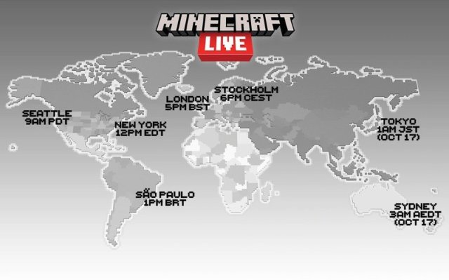 Minecraft Live 2021 Streaming Times Image