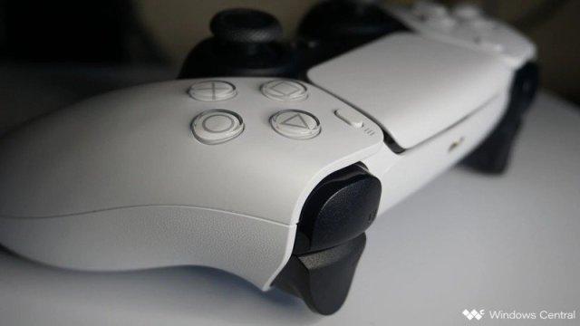 Dualsense Trigger Closeup