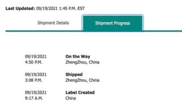 iphone 13 shipping details