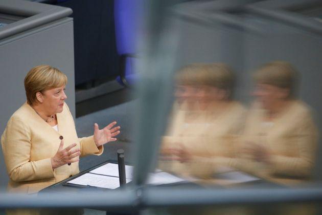Le 7 septembre, Angela Merkel s'exprimait pour l'une des dernières fois devant le Bundestag, la...