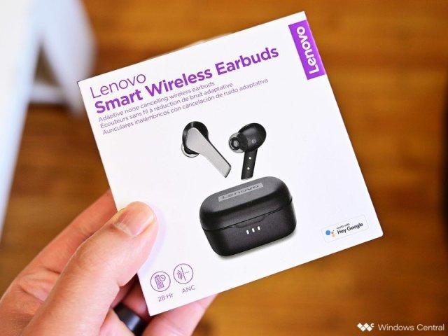 Lenovo Smart Wireless Earbuds Box