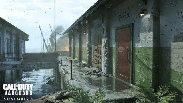 Call Of Duty Vanguard Multiplayer Gavutu Docks