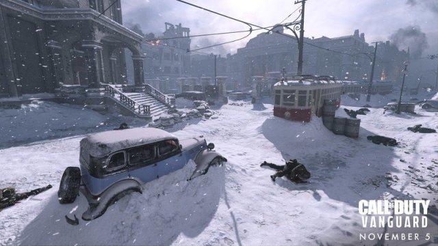 Call Of Duty Vanguard Red Star Scenery