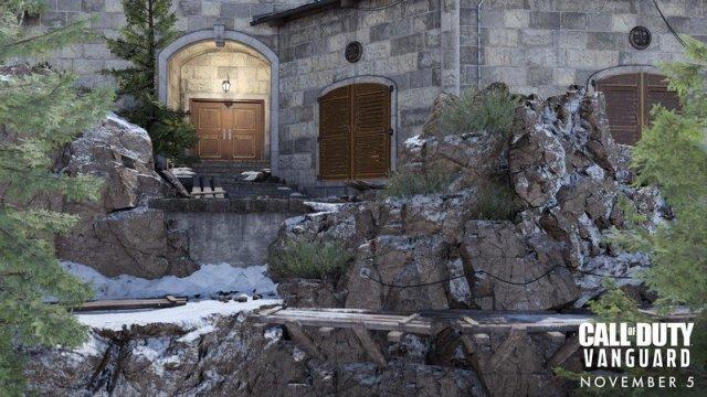 Call Of Duty Vanguard Multiplayer Eagle Nest Outside