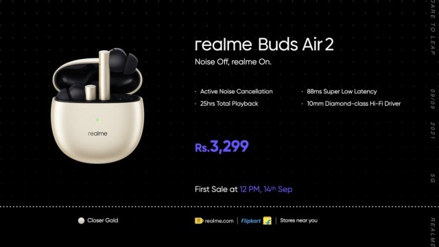 Realme unveils two portable Bluetooth speakers and a Gold color for the Realme Buds Air 2