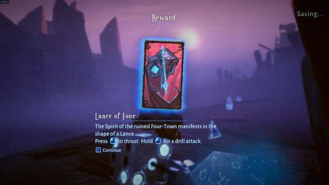 Lost In Random Card Reward