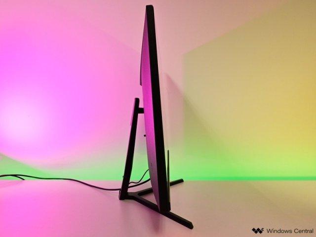 Monoprice Darkmatter Display Side