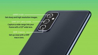 Samsung Galaxy M52 5G comes with a total of four cameras in tow