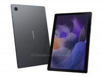 Samsung Galaxy Tab A8 2021 renders (credit: @OnLeaks x 91Mobiles)