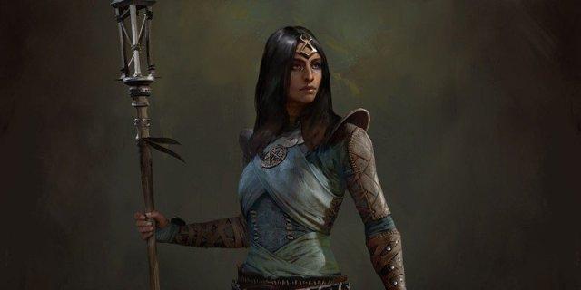 Diablo 4 Sorceress Artwork