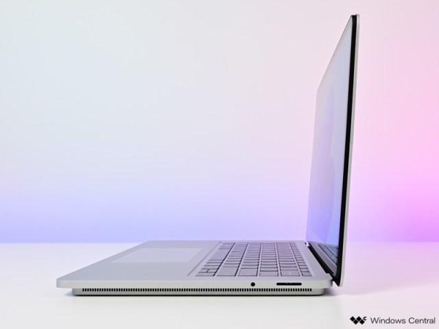 Surface Laptop Studio Side Profile