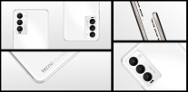 The Tecno Camon 18 will be available in the same colors: Ceramic White