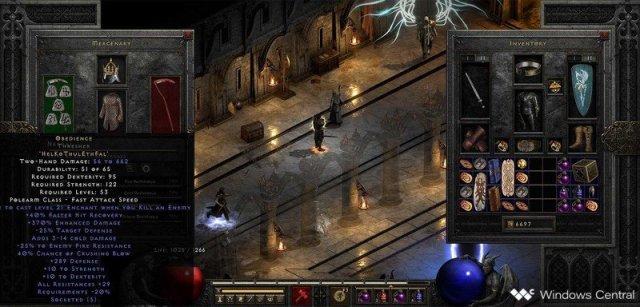 Diablo 2 Obedience runeword