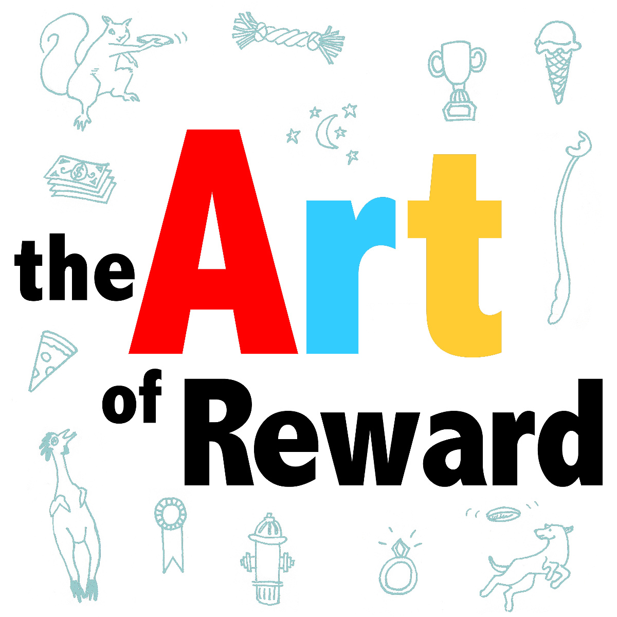 The Art of reward graphic for 2017 Train for Rewards Blog Party