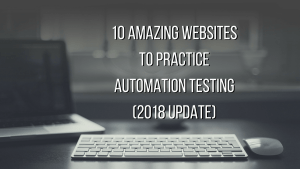 best websites to practice automation testing