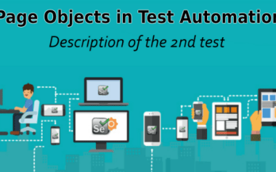 Selenium Tutorial –Page Objects in Test Automation –  Description of the 2nd test