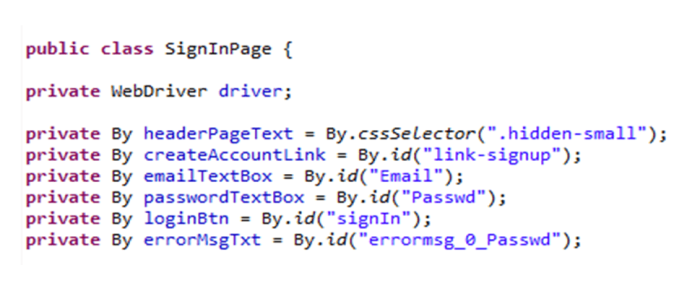 effective selenium testing strategy example code