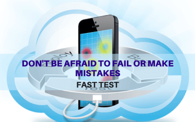 Selenium Tutorial – Fast Tests Execution – Don't be afraid to fail or make mistakes