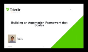 selenium webdriver resources -webinars -building an automation framework that scales