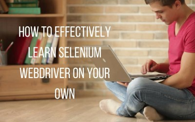 Little known secrets on how to effectively learn Selenium Webdriver on your own