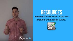 Selenium webdriver resources