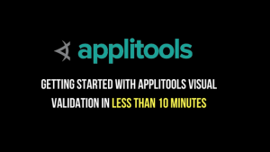 how to get started with Applitools Visual validation in less than 10 minutes