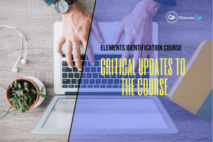 Critical Updates to the Course of the elements identification course