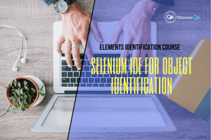 Selenium IDE for object identification of the elements identification course