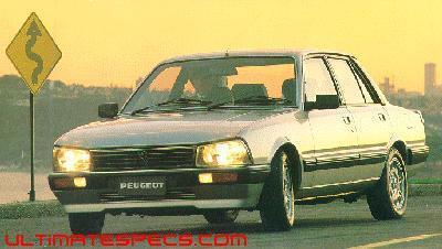 Peugeot 505 Srd Turbo Technical Specs Dimensions