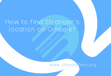 How to find Stranger's location on Omegle?