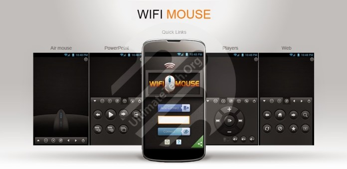 How to use Smartphone as Mouse for PC/Mac?