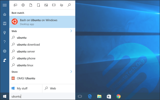 Linux Commands for Ubuntu Bash Shell on Windows 10