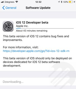 How to Install iOS 12 Beta 1 OTA Update without Developer Account?