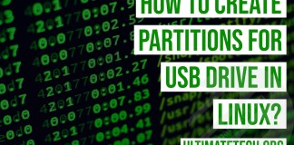 How to Make Partitions for USB Drive in Linux