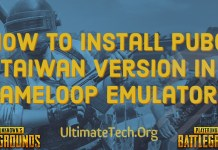 How to Install PUBG Taiwan Version in Gameloop Emulator?