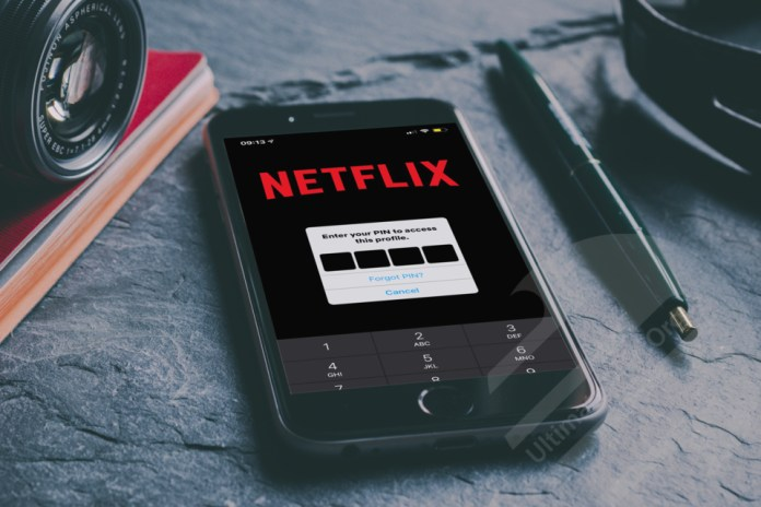 How to Set Lock PIN on your Netflix Profile