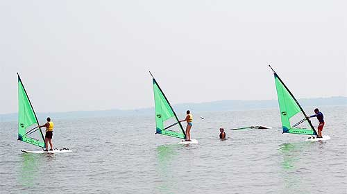 pic windsurfing lessons Guide To Baltimore Water Sports