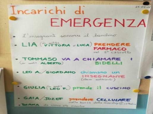 riccione bimbo con l'epilessia in classe ogni compgno ha un compito in caso di emergenza